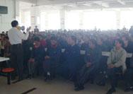 2011年2月25日,员工动员大会